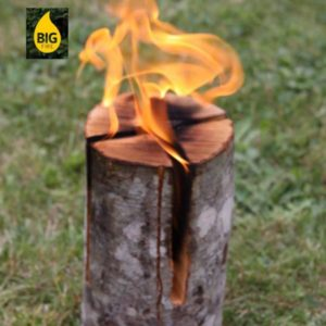 Swedish Torch - Alder (Small) - Pack of 3
