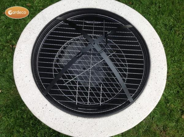 Marbella Fire Pit - top view